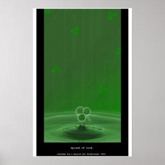 Splash Of Luck Poster