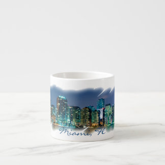 Splash of Miami Espresso Cup