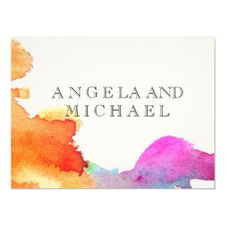 Splash of Watercolor Card