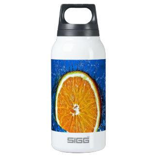 splash orange eager to love wet insulated water bottle