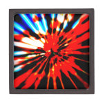 Splash Pattern Abstract Design Premium Jewelry Box