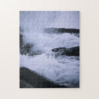 Splash & Rocks Puzzle