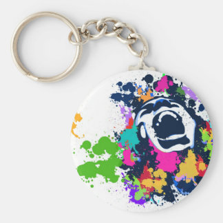 Splash Scream Keychain