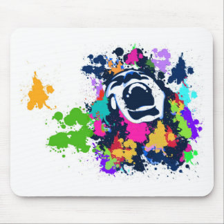 Splash Scream Mouse Pad