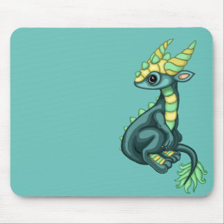 Splash the Diddy Dragon mouse pad