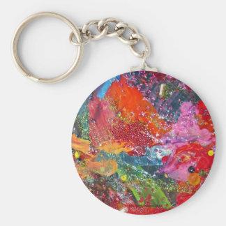 Splash! The Rainbow Connection. Basic Round Button Keychain