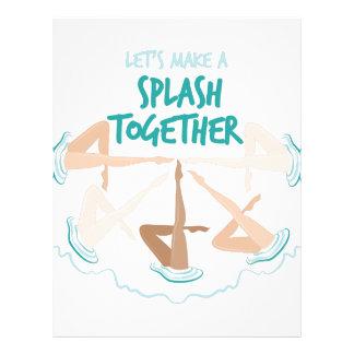 Splash Together Letterhead