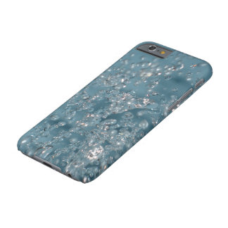 SPLASH WATER AQUA BLUE ART IPHONE 6S HARD CASE