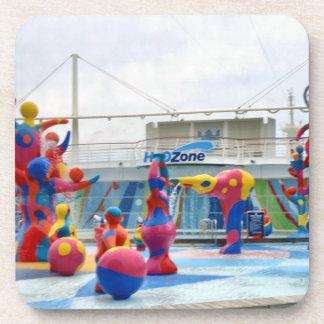 Splash with Color Coaster