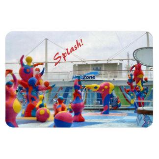 Splash with Color Magnet