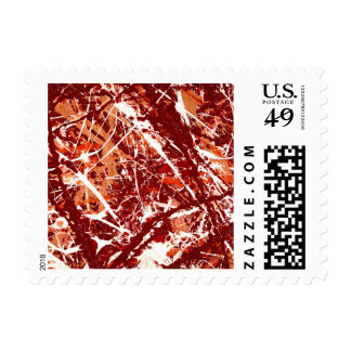 SPLASHDOWN! (abstract) ~.jpg Postage