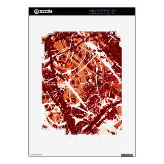 SPLASHDOWN! (an abstract art design) ~ iPad 2 Skin