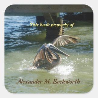 Splashdown Personalized Bookplate