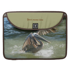 Splashdown Rickshaw Personalized Sleeve For Macbook Pro at Zazzle