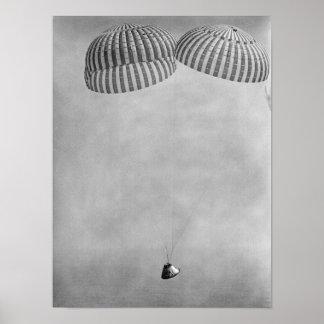 Splashdown y recuperación de Apolo 9 Poster