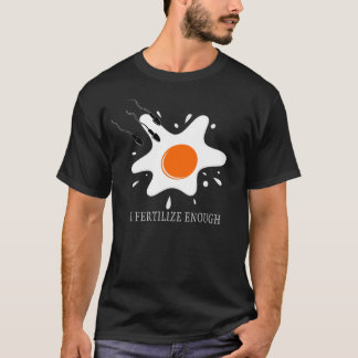 Splashed Egg Fertilization (Dark) T-Shirt