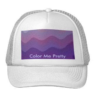 splashed In color Trucker Hat