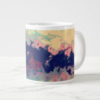 Splashed  Paint Large Coffee Mug