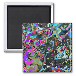 Splashes Mix & Match Collectables - 2 Inch Square Magnet