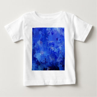 splashes of color, blue baby T-Shirt