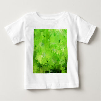 splashes of color, green baby T-Shirt