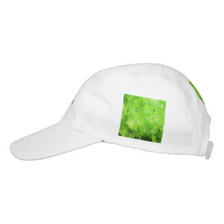 splashes of color, green headsweats hat