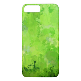 splashes of color, green iPhone 8 plus/7 plus case
