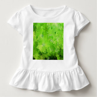 splashes of color, green toddler t-shirt