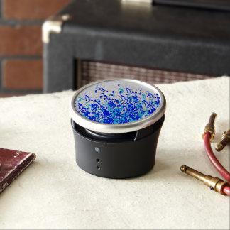 Splashes of Paint Blue Speaker
