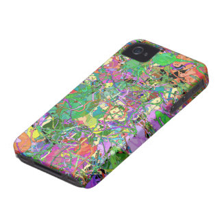 Splashes of Paint iPhone 4 Case-Mate Case