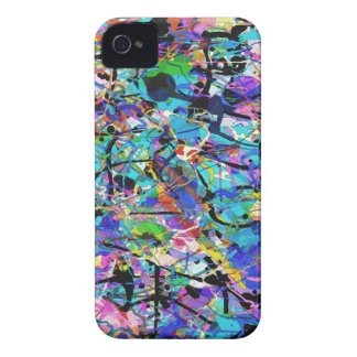 Splashes of Paint iPhone 4 Cover