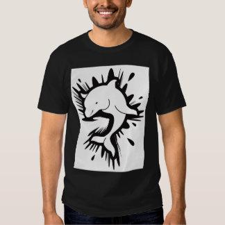 Splashing dolphin t-shirt