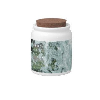 Splashing Fountain Water Candy Jar