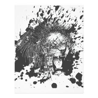Splashing Lion Flyer