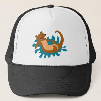 Splashing Otter Trucker Hat