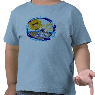Splashing Summer Fun at the Beach T-shirt