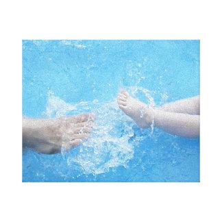 Splashing Summer Fun Gallery Wrap Canvas
