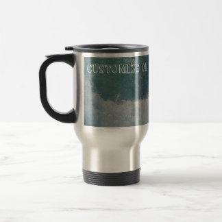 Splashing Water; Customizable Travel Mug