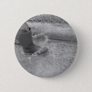 Splashing Water Pinback Button