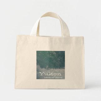 Splashing Water; Yukon Territory Souvenir Mini Tote Bag