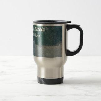 Splashing Water; Yukon Territory Souvenir Travel Mug