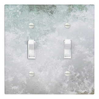 Splashing Waves Light Switch Cover