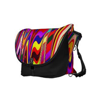 Splashy Colors Courier Bag