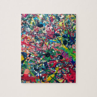 splat artistic design painting jigsaw puzzle
