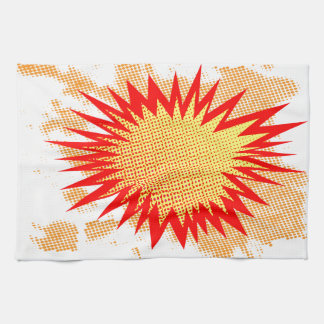 Splat Background Kitchen Towel