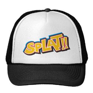 Splat Cartoon Bang Boom Trucker Hat