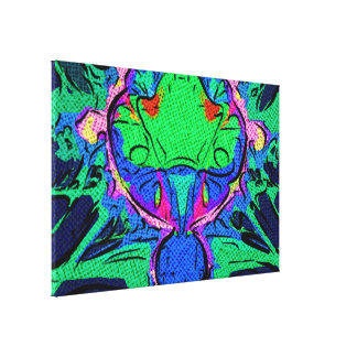 splat frecuencia intermedia abstracta lienzo envuelto para galerías