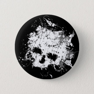 Splat Skull button
