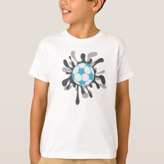 Splat soccer ball design T-Shirt