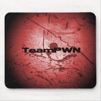 splatred mouse pad
